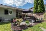 Back Garden at 12220 234 Street, East Central, Maple Ridge