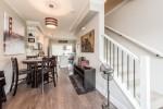 Dining Room at 25 - 10151 240 Street, Albion, Maple Ridge