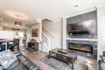 Fireplace at 25 - 10151 240 Street, Albion, Maple Ridge
