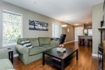 Living Room with Green Space out the window at 307 - 5454 198 Street, Langley City, Langley