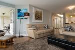 Living Room and Balcony at 506 - 1225 Merklin Street, White Rock Rock,