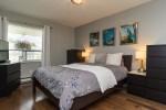 Master Bedroom at 506 - 1225 Merklin Street, White Rock Rock,