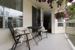 Sun Drenched Patio at 506 - 1225 Merklin Street, White Rock Rock,