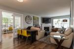 Living Room and Den at 506 - 1225 Merklin Street, White Rock Rock,